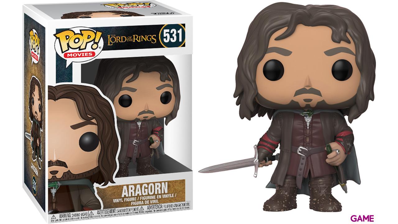 Figura Pop El Señor de los Anillos: Aragorn