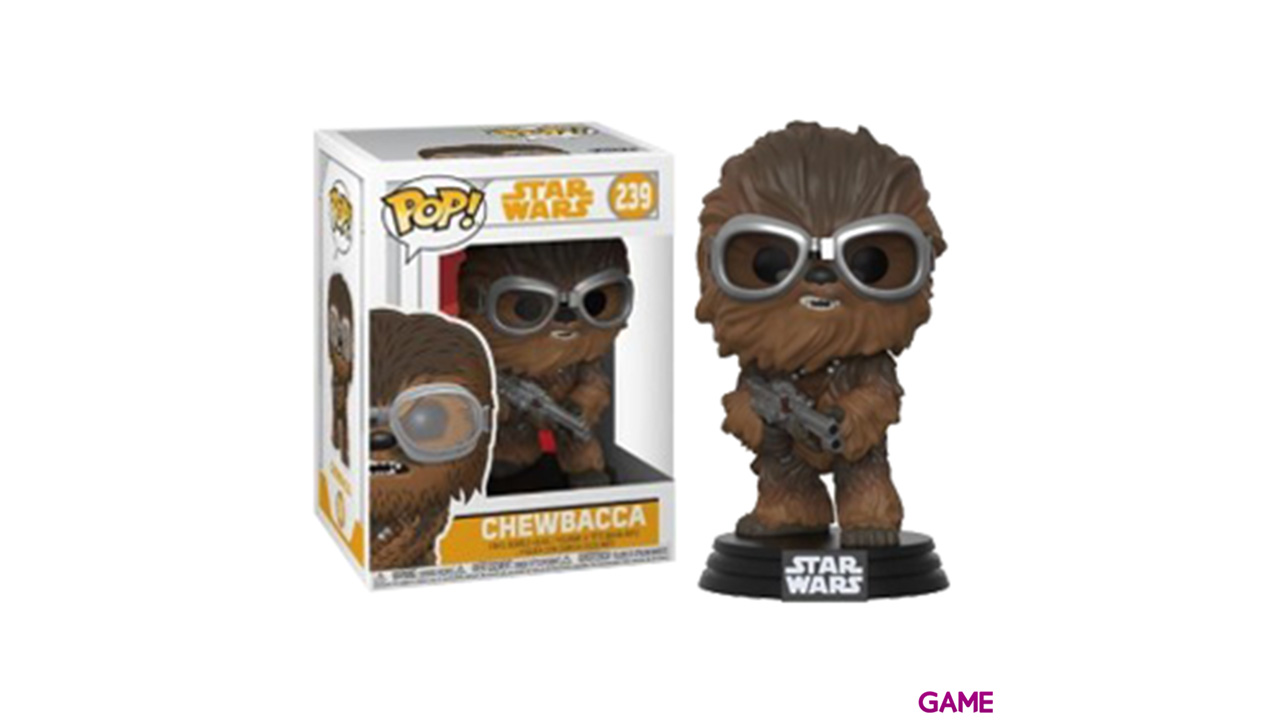 Figura Pop Star Wars Han Solo: Chewbacca