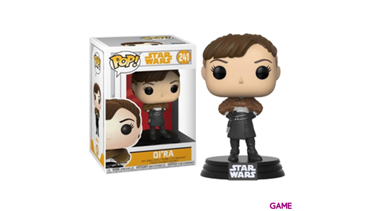 Figura Pop Star Wars Han Solo: Qi´ra
