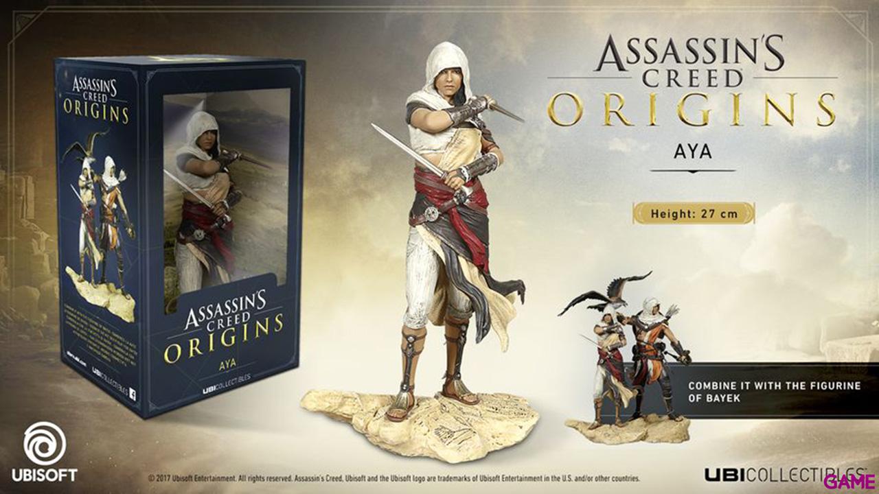Assassin's Creed Origins Figurine Aya Merch