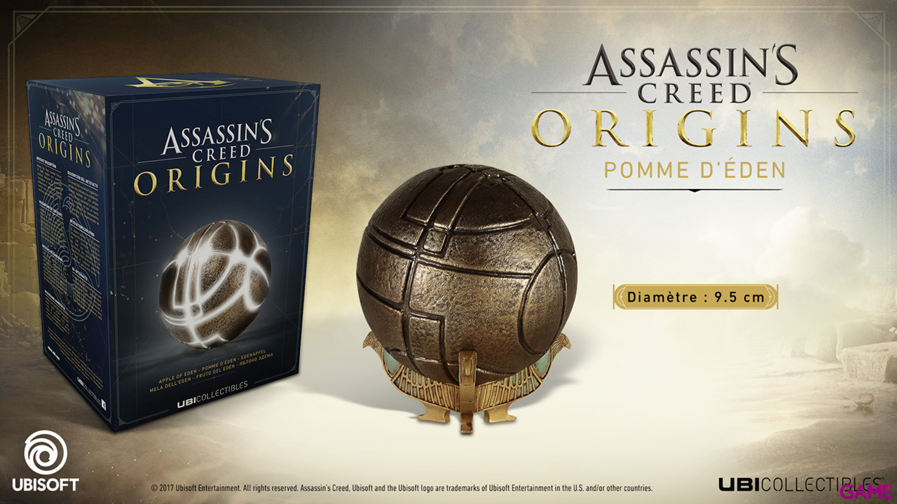 Assassin's Creed Origins Merch Apple of Eden