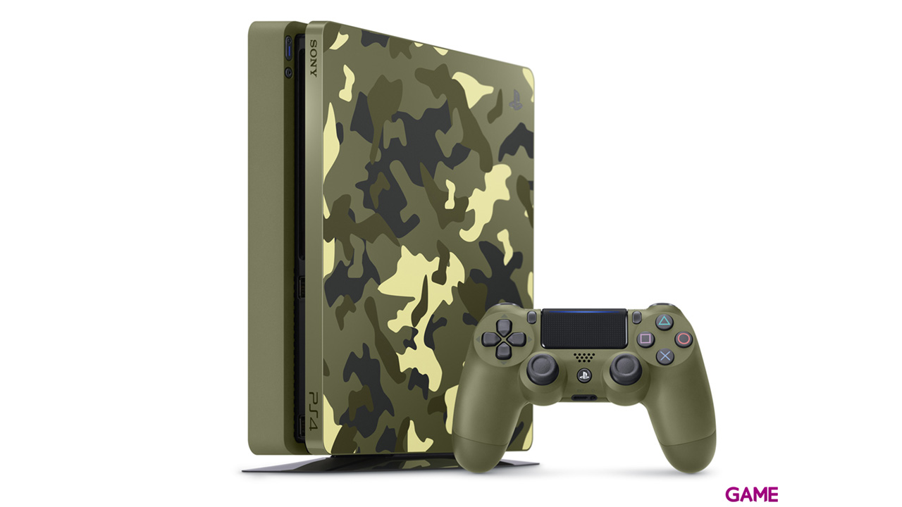 Playstation 4 Slim 1Tb Edición Limitada + CoD WW II + ¡Has Sido Tú!