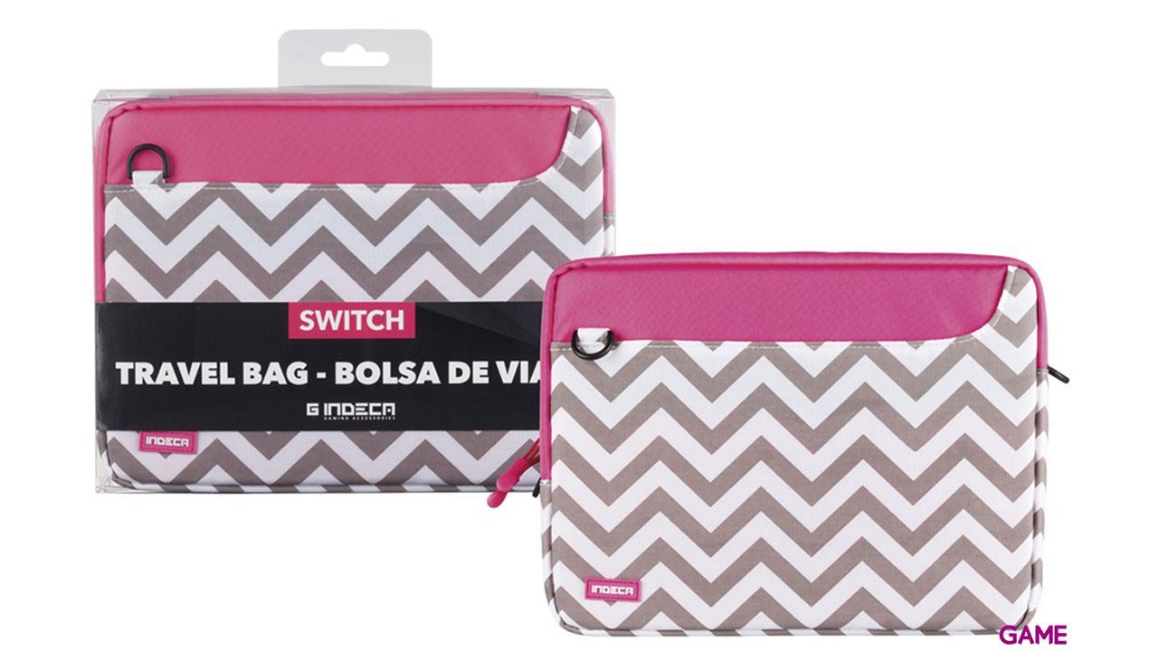 Bolsa Travel Girls para Nintendo Switch Indeca Gaming