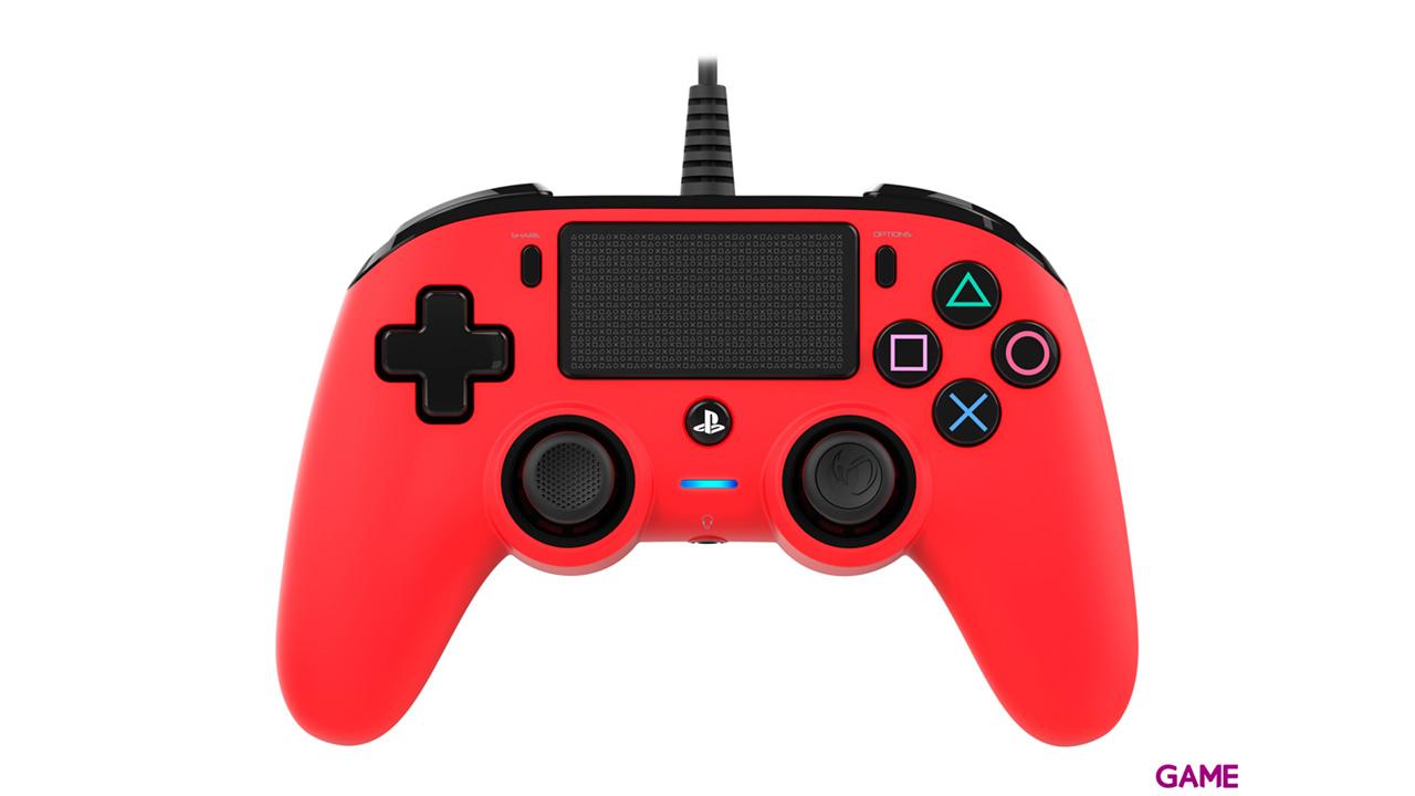Mando Nacon Con Cable Rojo - Licencia Oficial Sony