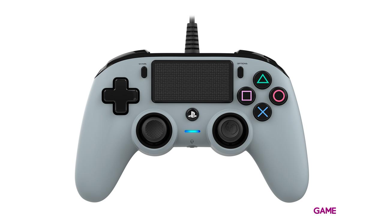 Mando Nacon Con Cable Gris - Licencia Oficial Sony