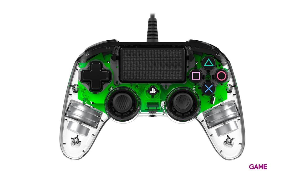 Mando Nacon Con Cable y Luz Verde - Licencia Oficial Sony