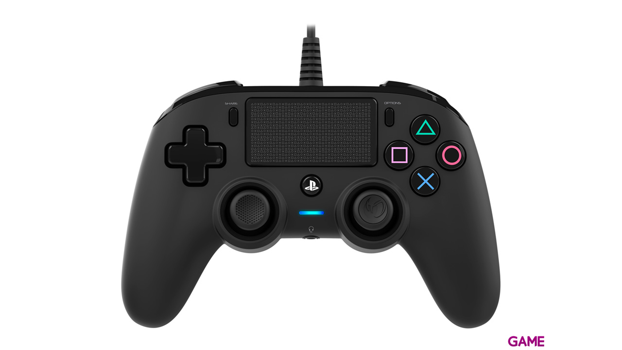 Mando Nacon Con Cable Negro - Licencia Oficial Sony