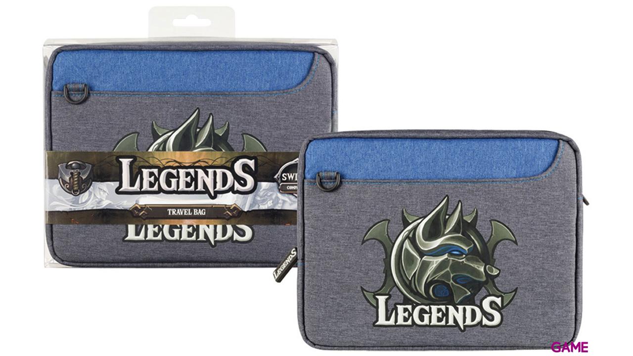 Bolsa Travel para Nintendo Switch Indeca Legends