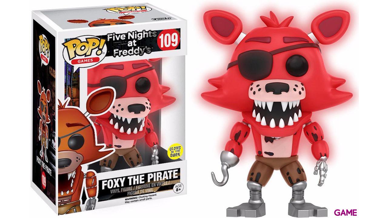 Figura Pop FNAF: Foxy Red