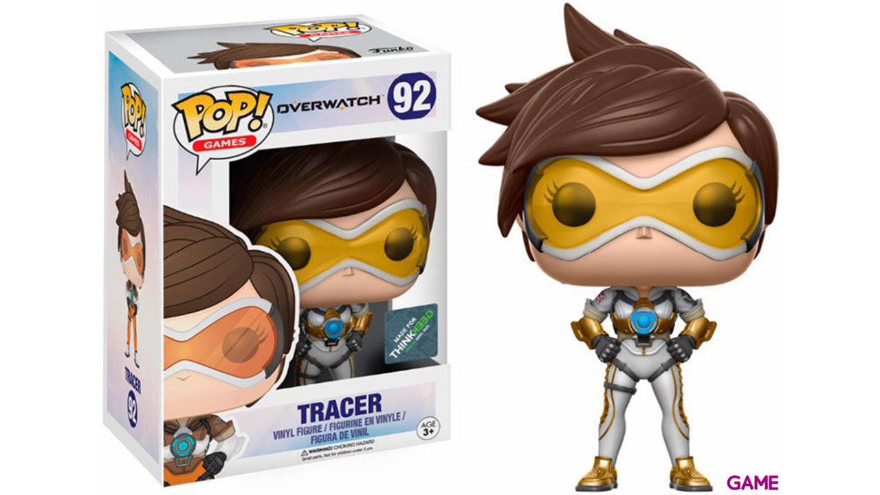 Figura Pop Overwatch: Tracer Posh