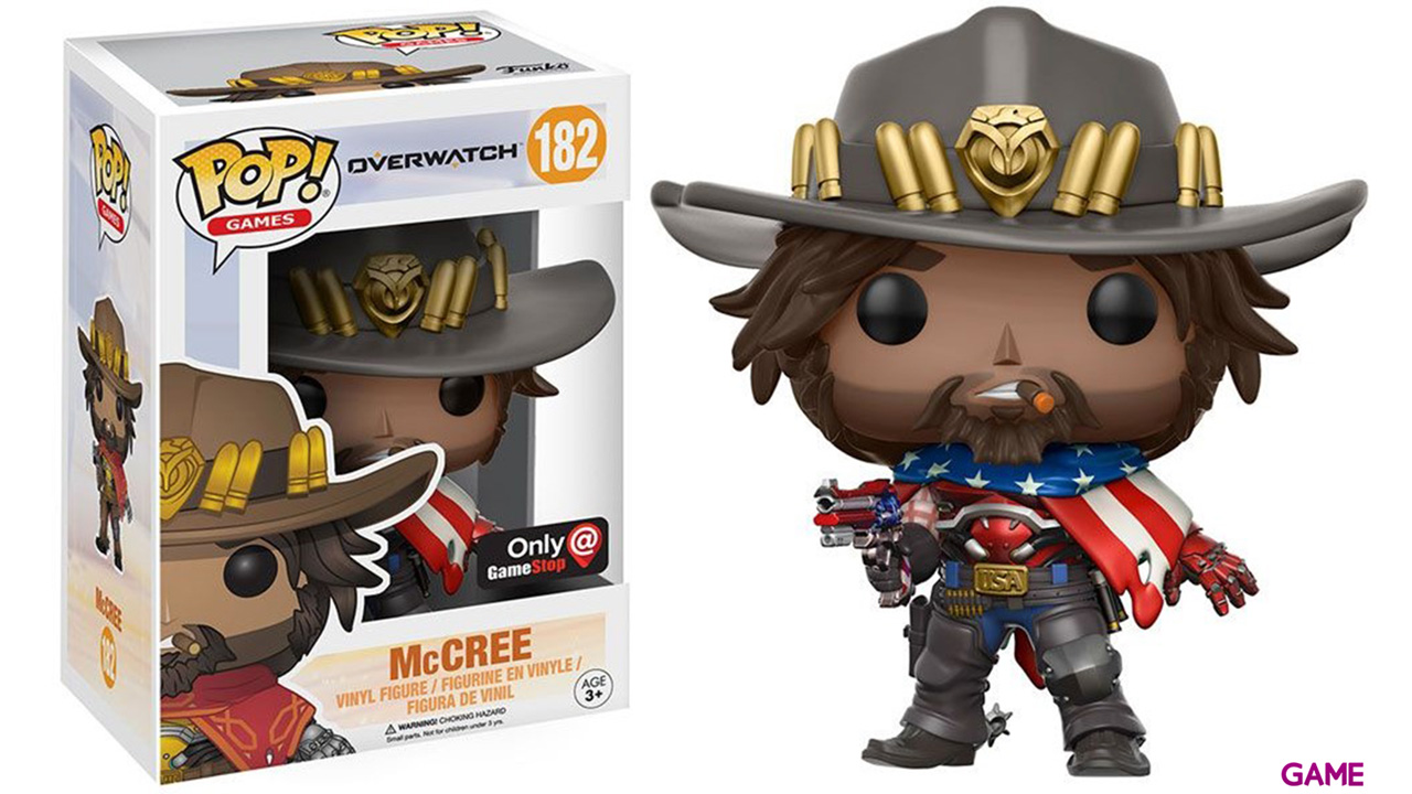Figura Pop Overwatch: USA McCree