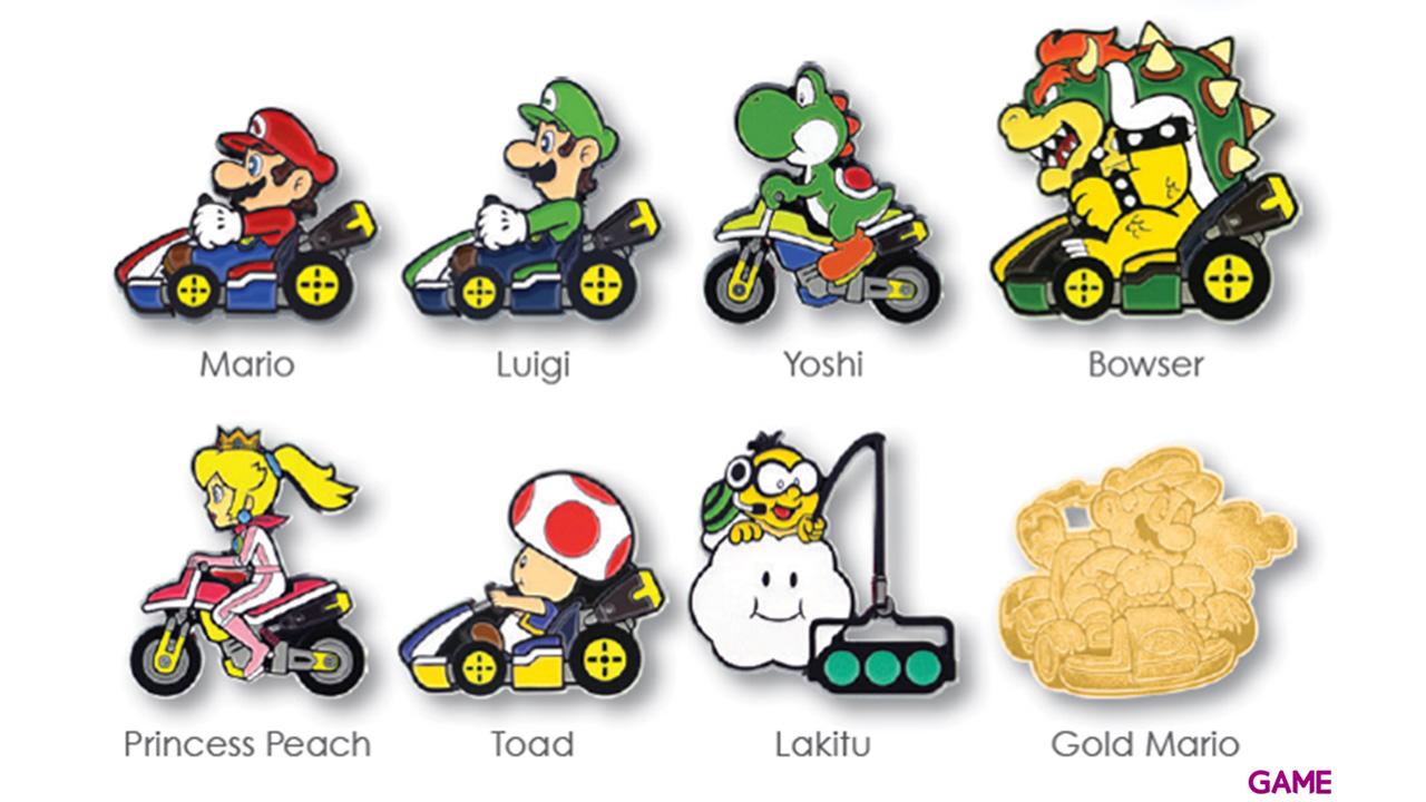 Pin Mario Kart Coleccionista Serie 3 (Surtido)