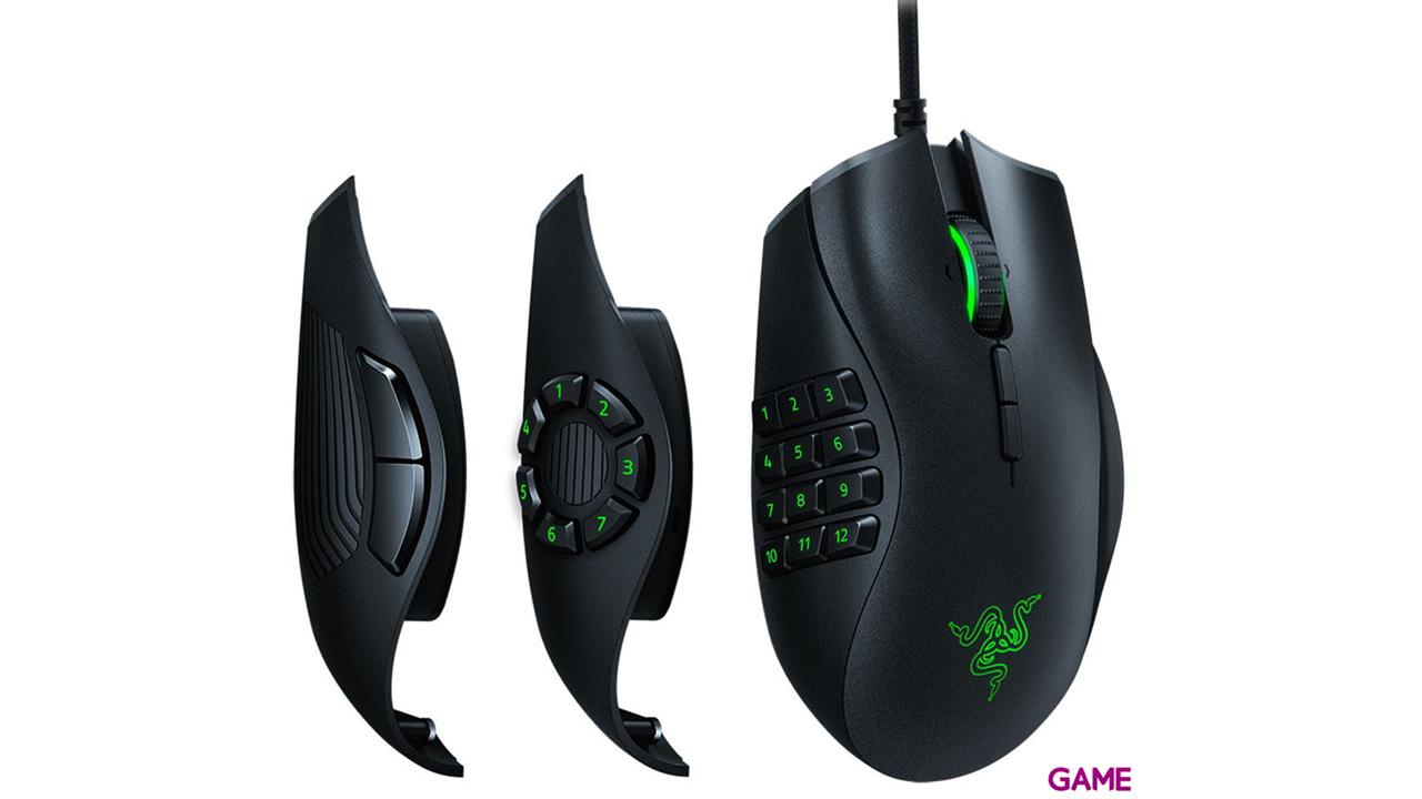 Razer Naga Trinity 16.000 DPI RGB - Ratón Gaming