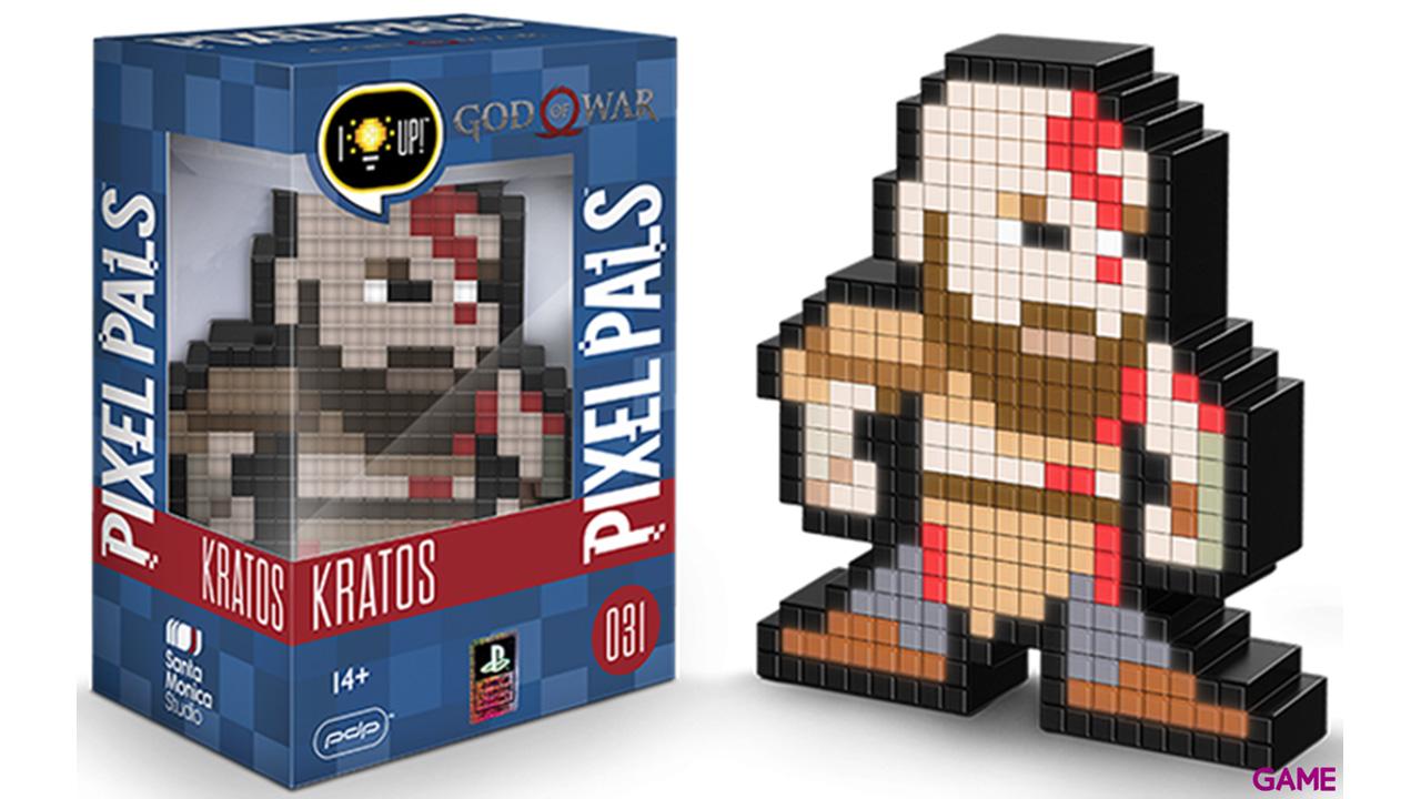 Figura Pixel Pals: Kratos