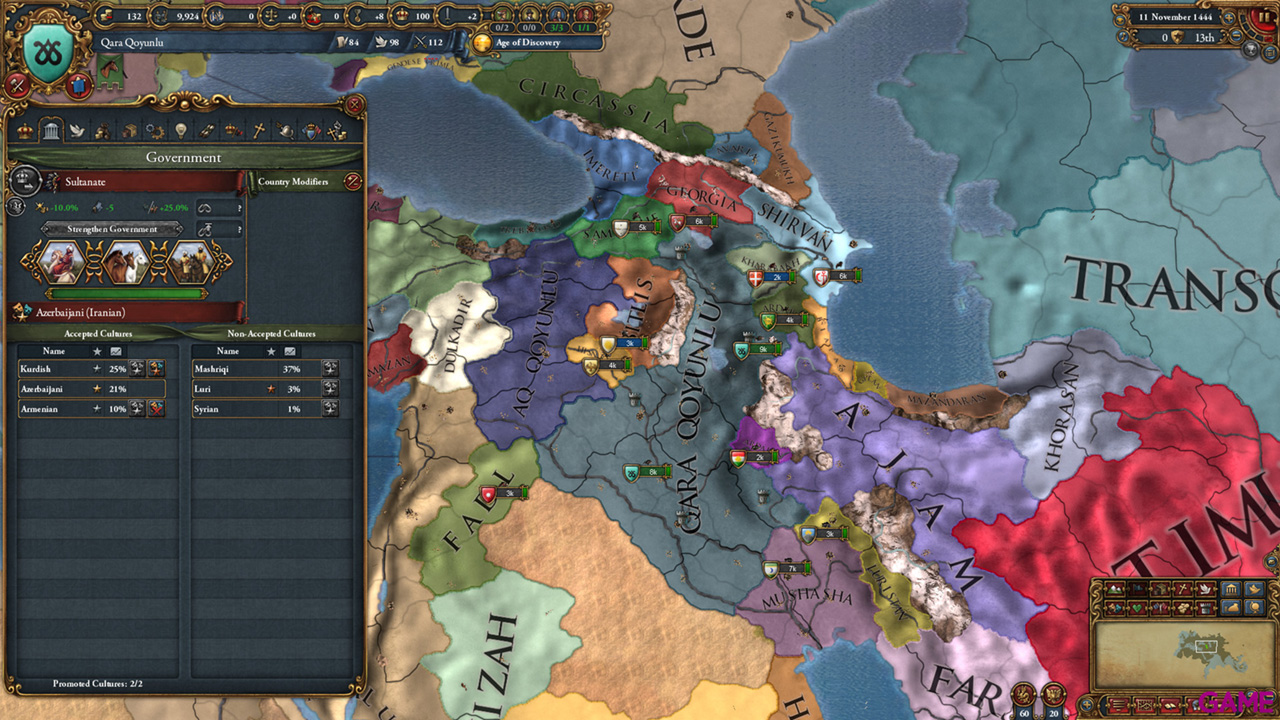Europa Universalis IV Cradle of Civilization Expansion