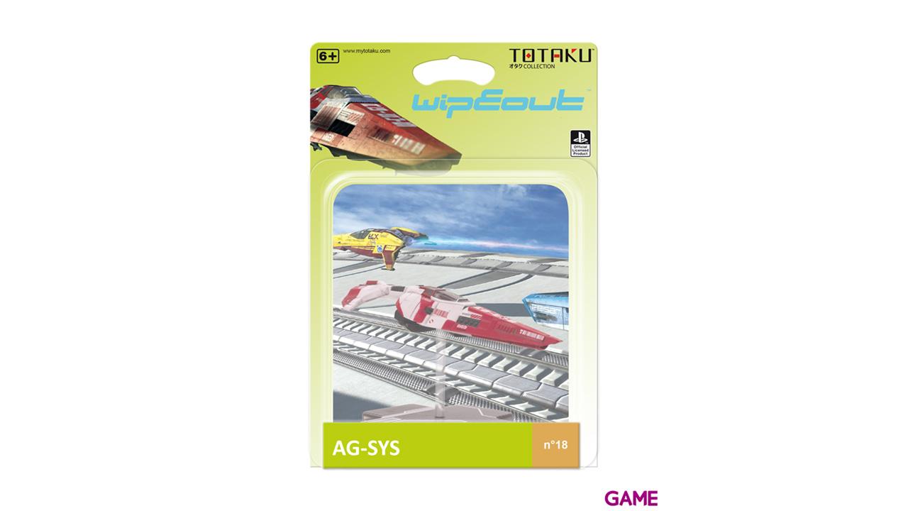 Figura Totaku Wipeout: AG-SYS Ship