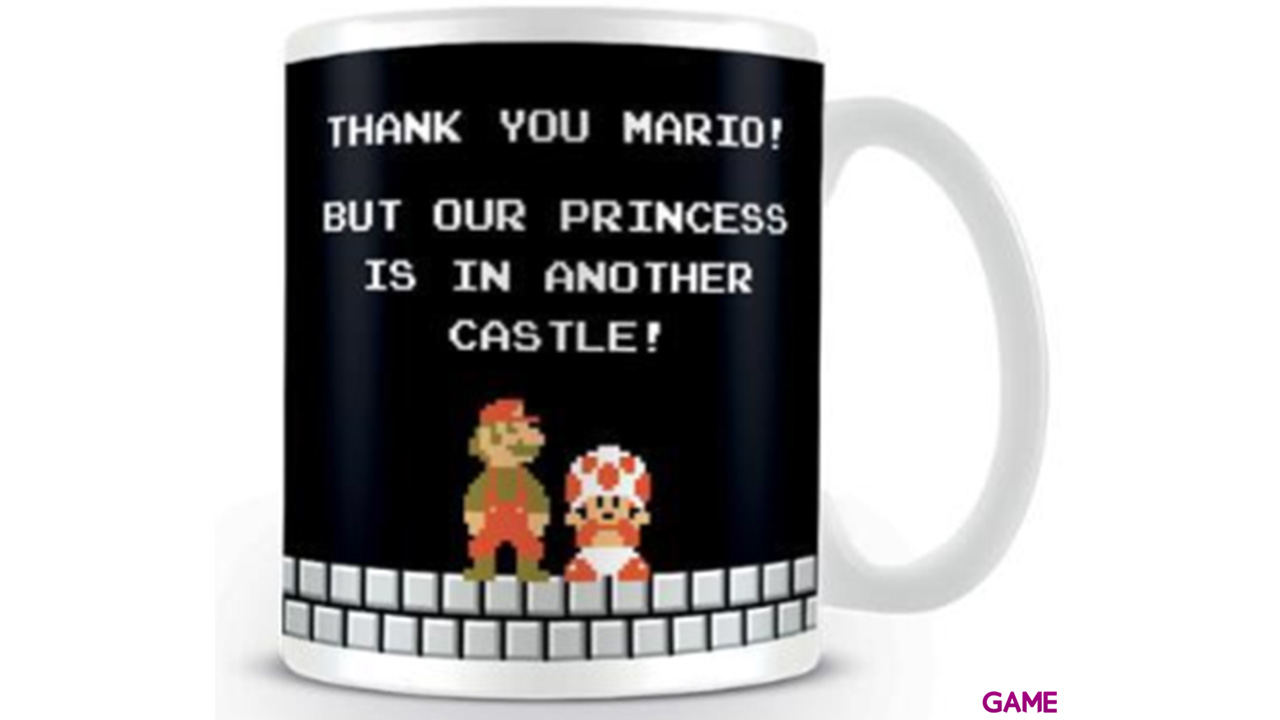 Taza Super Mario: Castillo 320ml