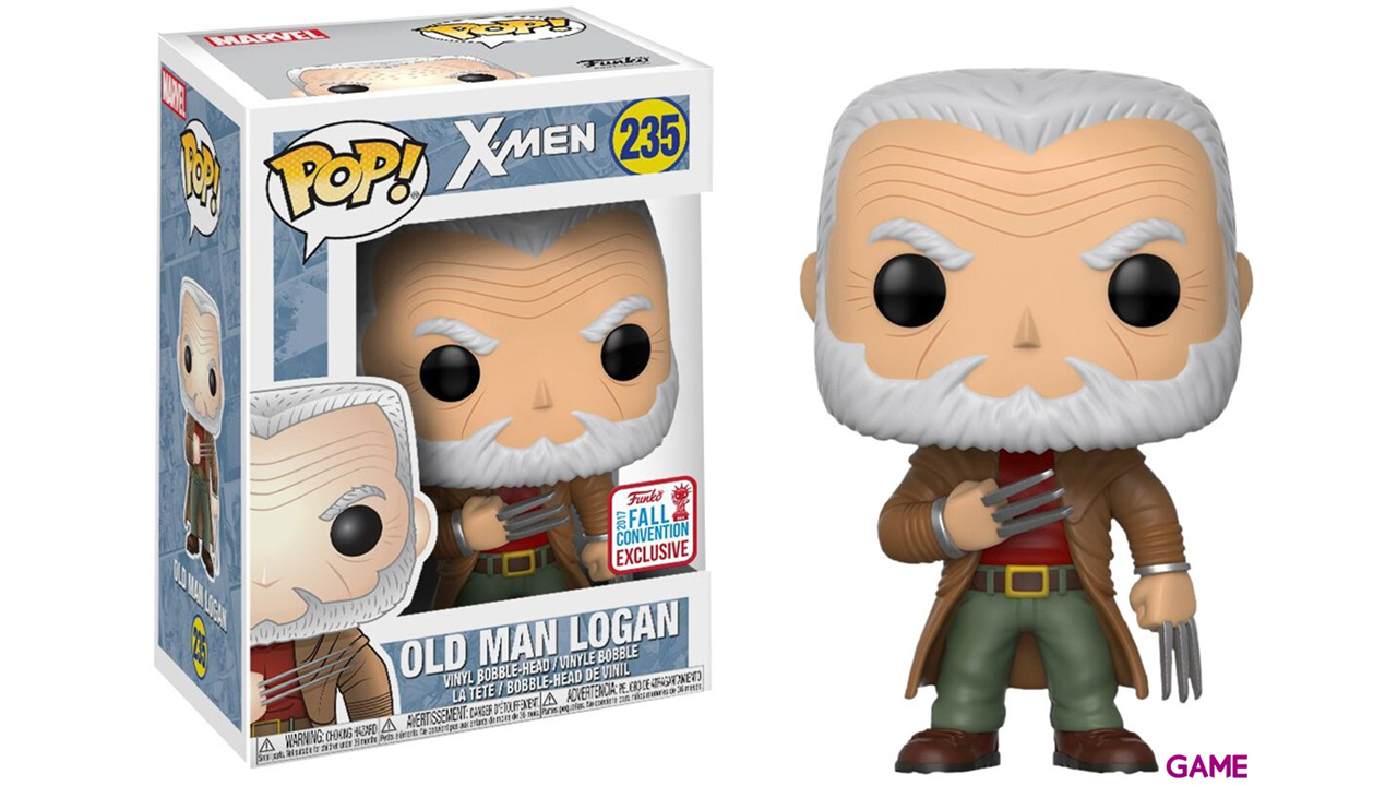 Figura Pop Marvel: Old Man Logan NYCC 2017 Ed. Limitada