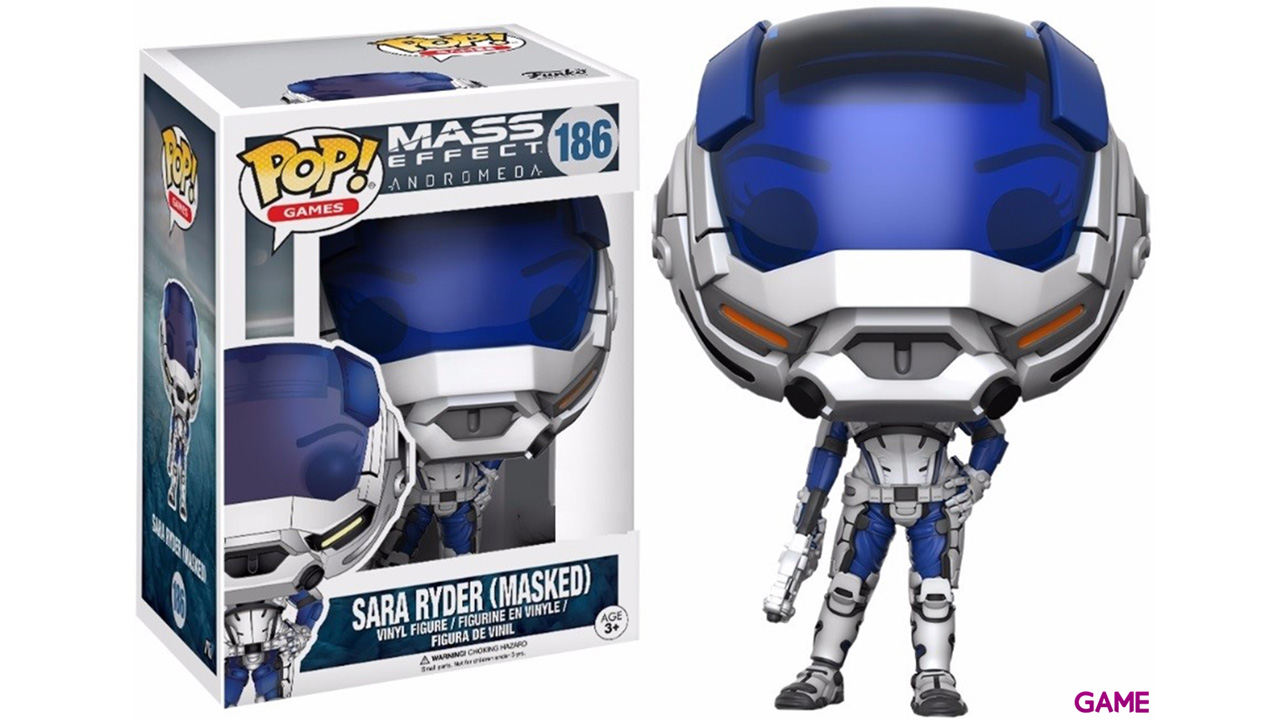 Figura Pop Mass Effect Andrómeda: Sara Ryder Ed. Limitada