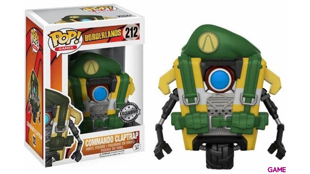 Figura Pop Borderlands: Commando Claptrap Ed. Limitada