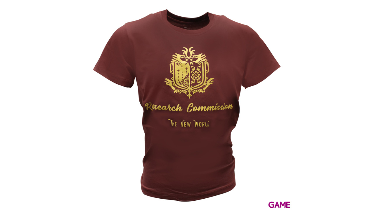Camiseta Monster Hunter World: Research Comission Talla XL