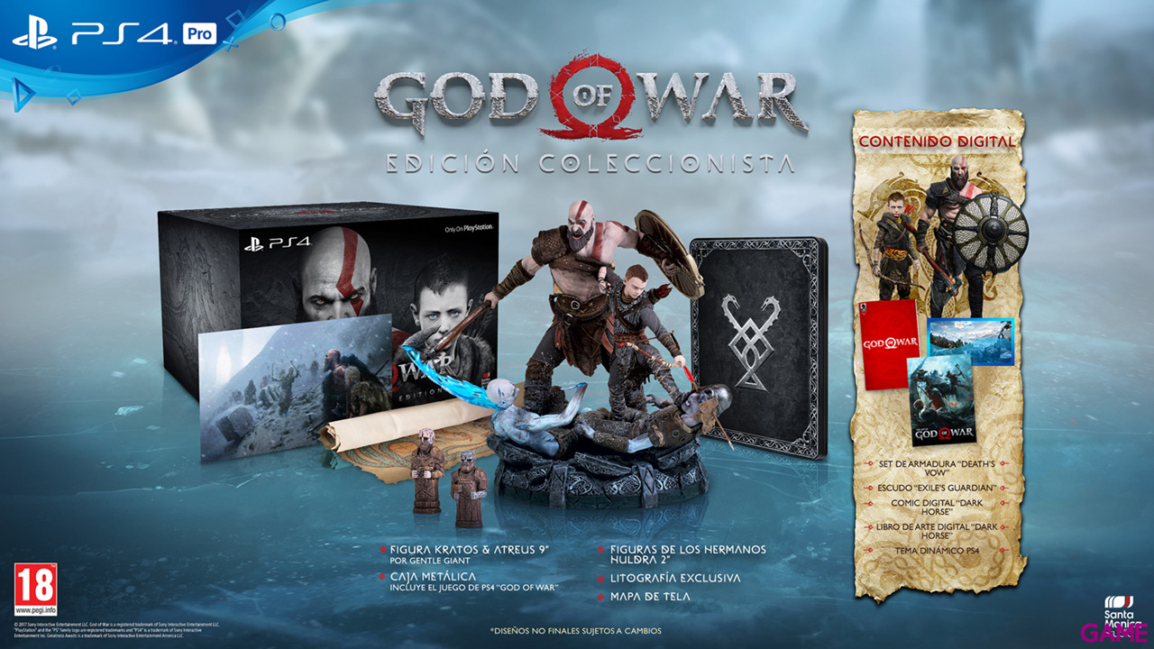 God of War Ed. Coleccionista