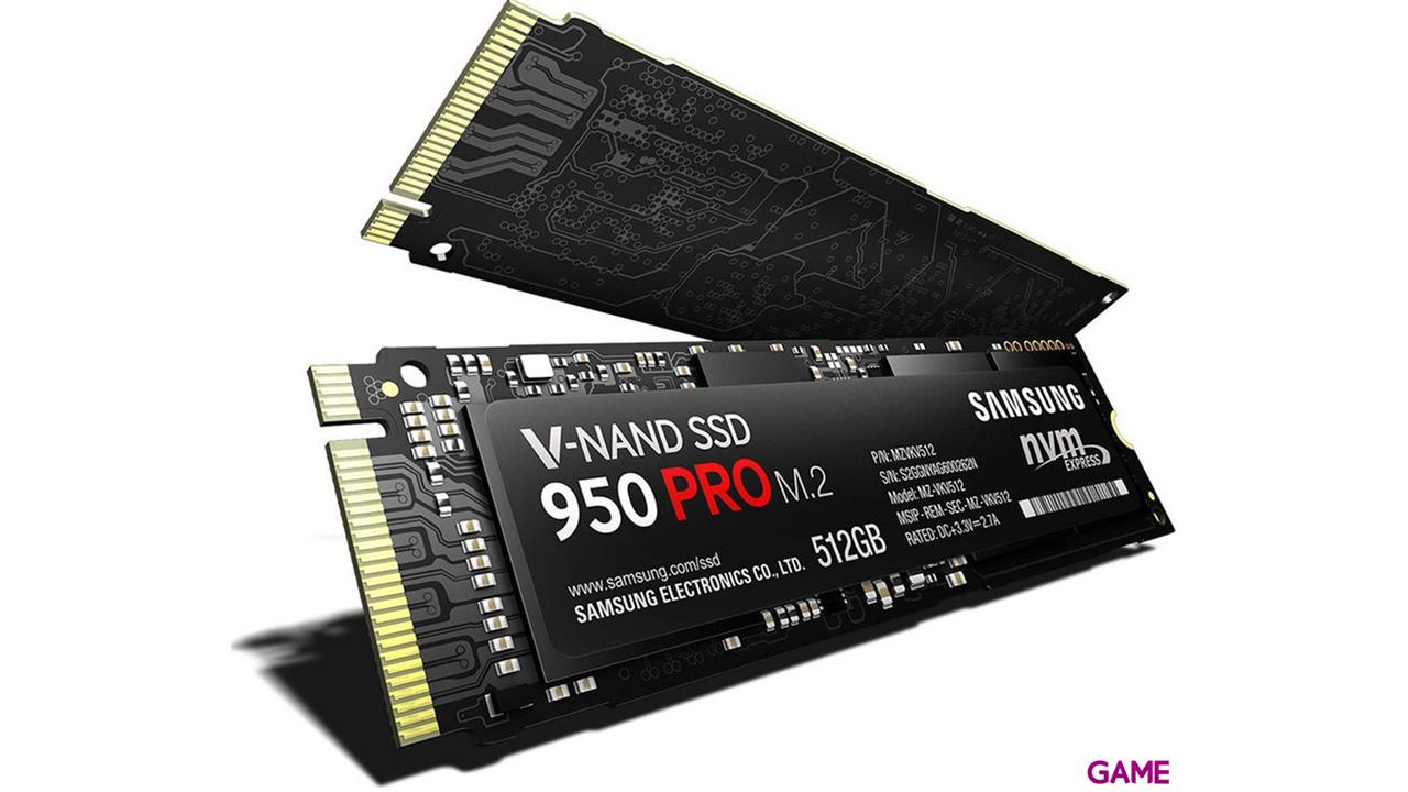 Samsung 960 PRO 512GB SSD M.2 NVMe