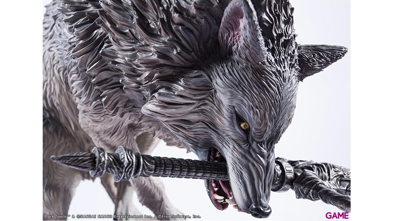 Estatua Dark Souls: The Great Grey Wolf
