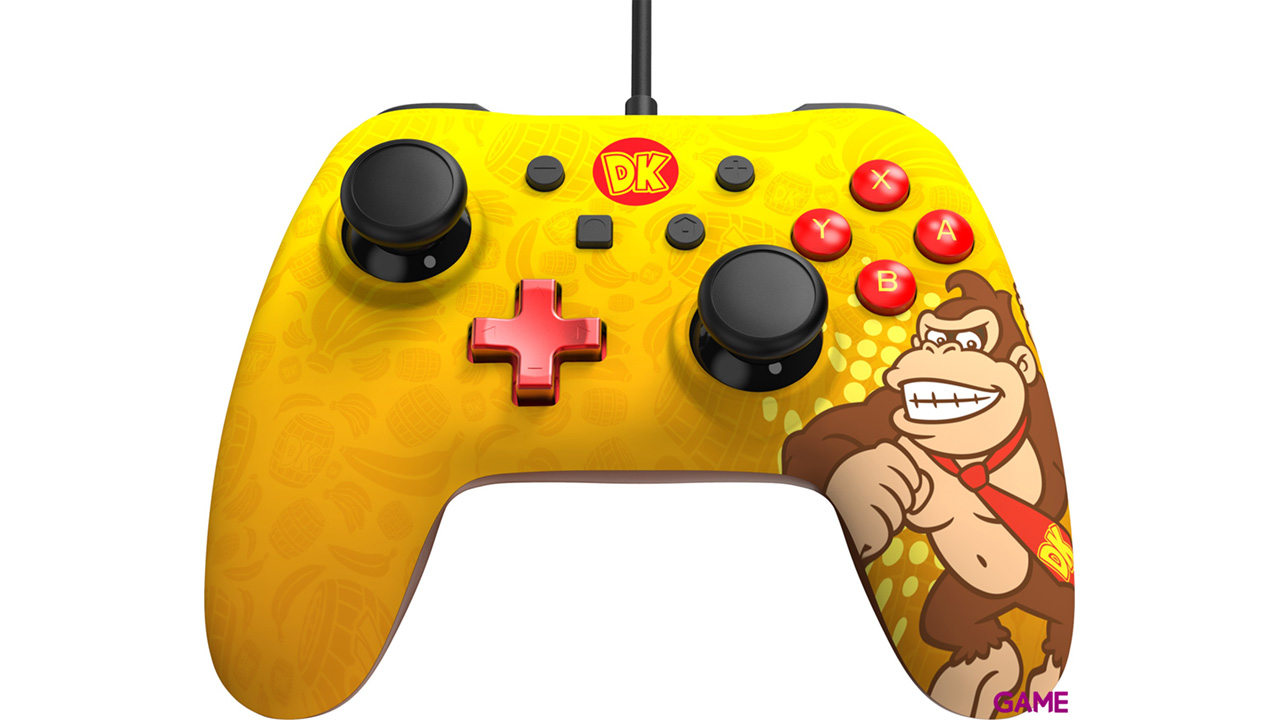 Controller con Cable PowerA Iconic Donkey Kong -Licencia oficial-