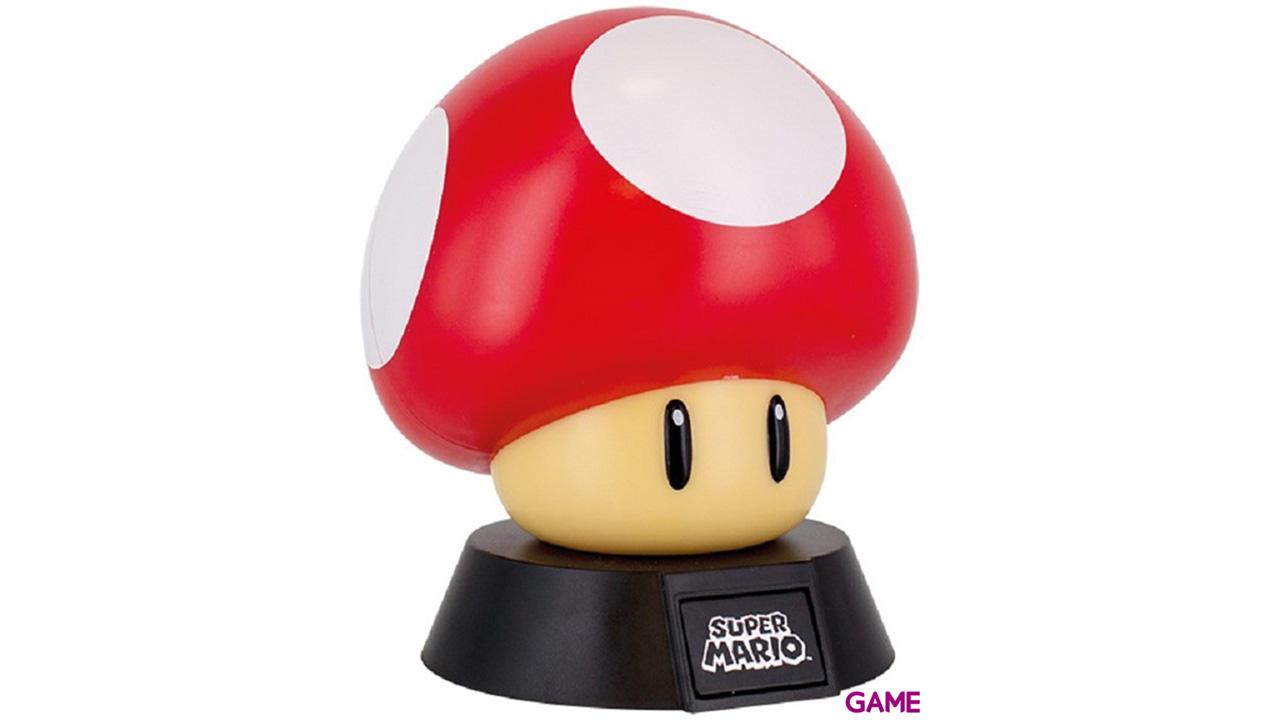 Lámpara Super Mario: Mushroom