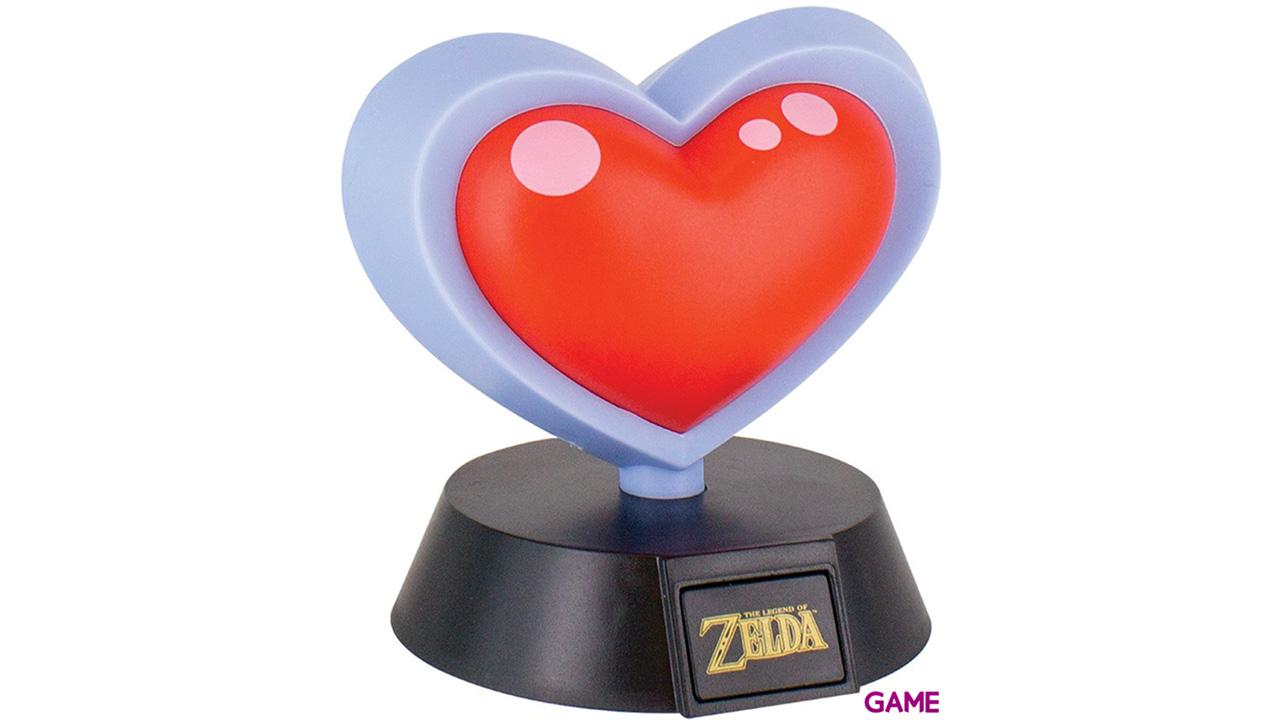 Lámpara The Legend of Zelda: Contenedor de Corazón