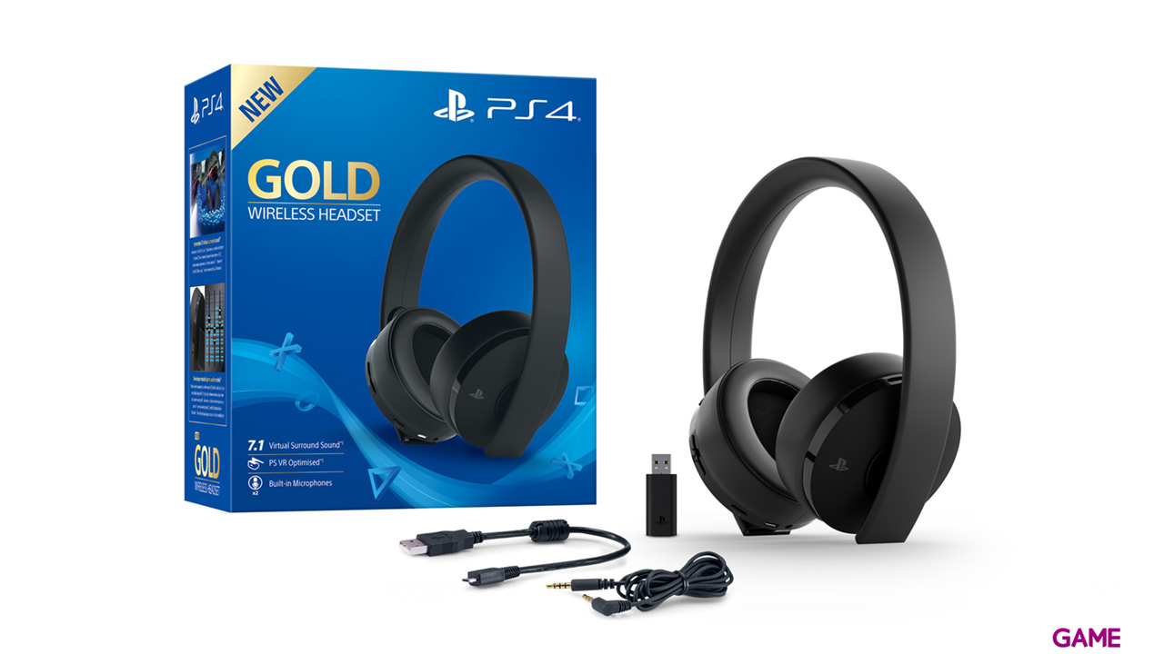 Wireless Headset Gold