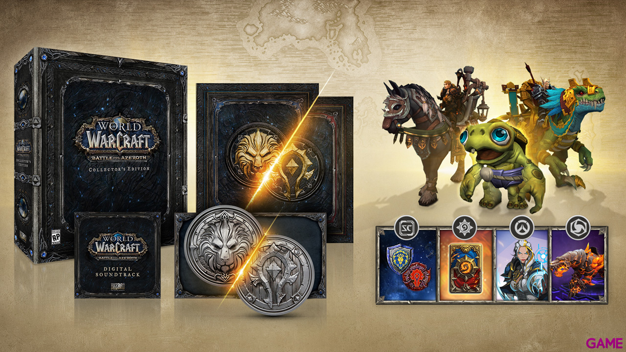 World of Warcraft: Battle for Azeroth Edición Coleccionista