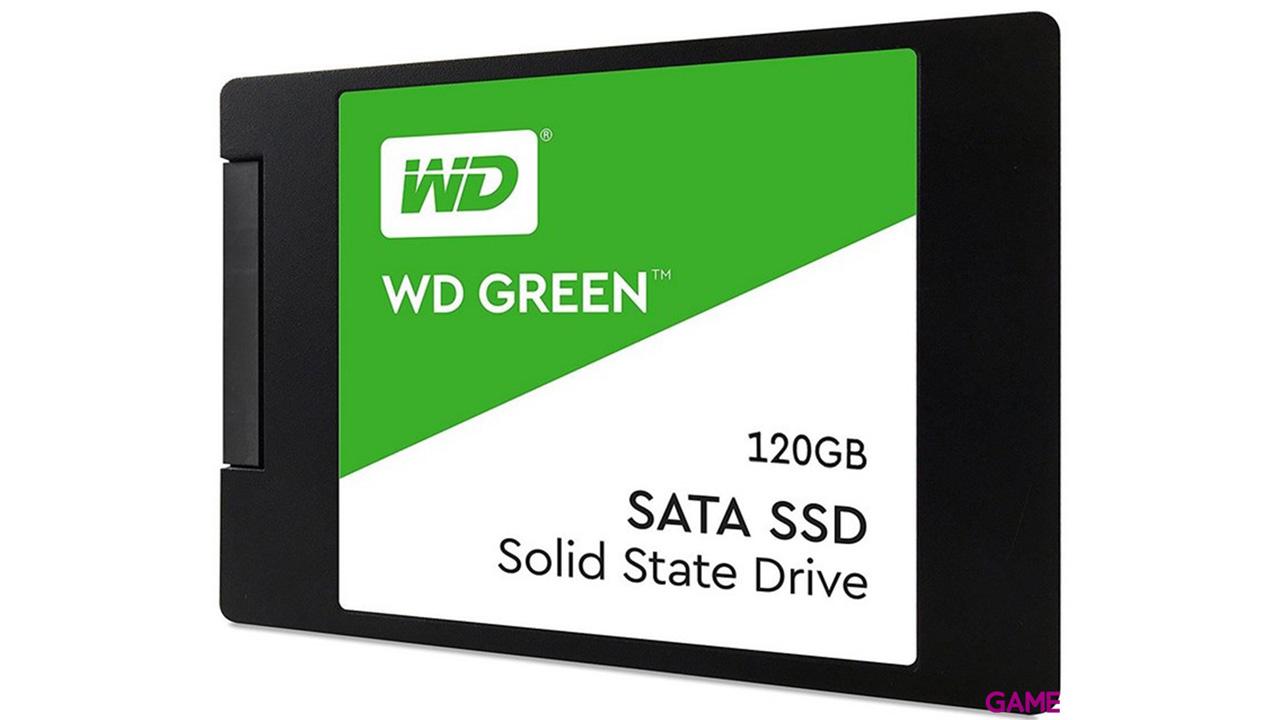 WD Green 120GB SSD 2,5