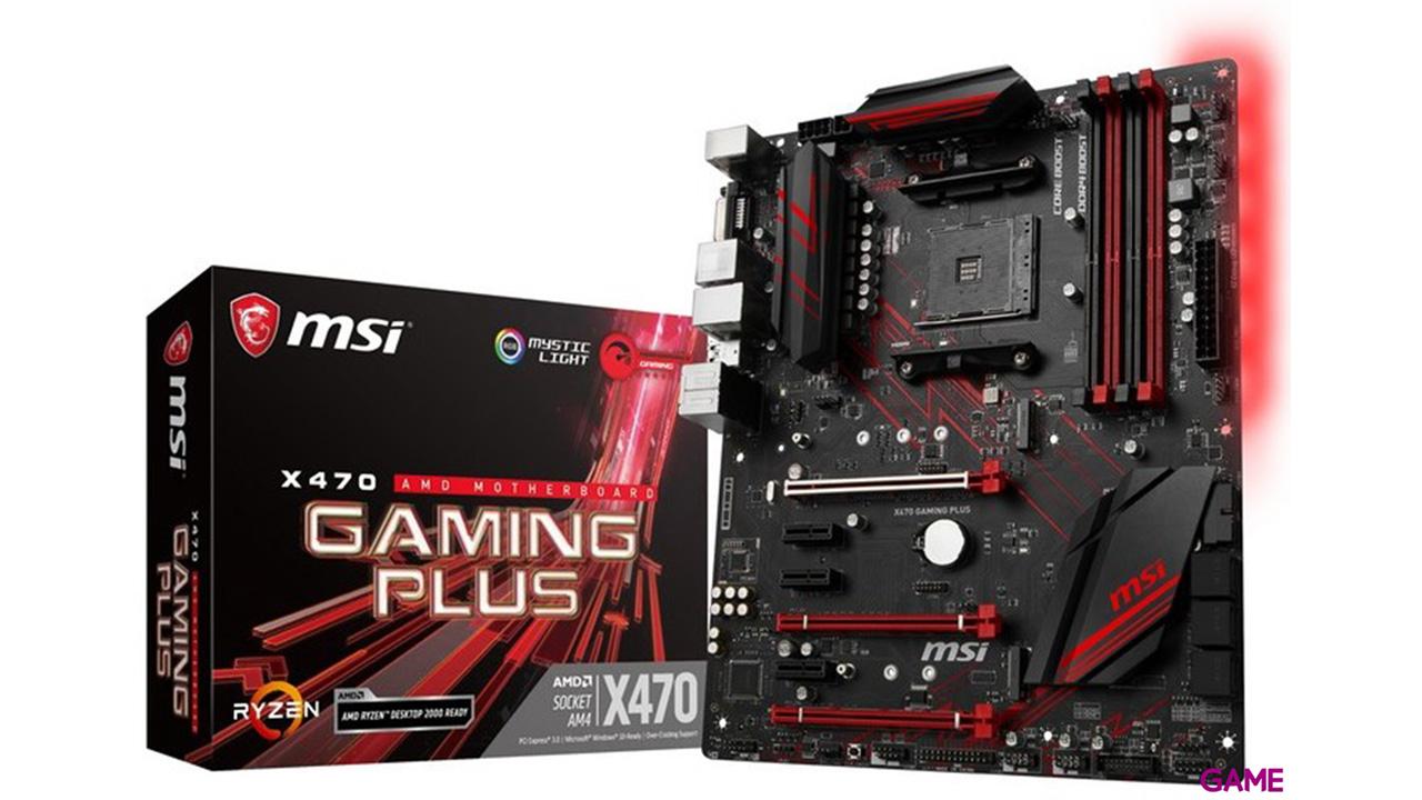MSI X470 Gaming Plus AM4 ATX