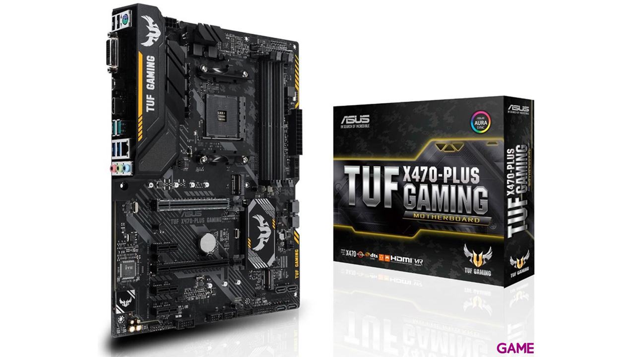 ASUS TUF X470-Plus Gaming - Placa Base ATX AM4