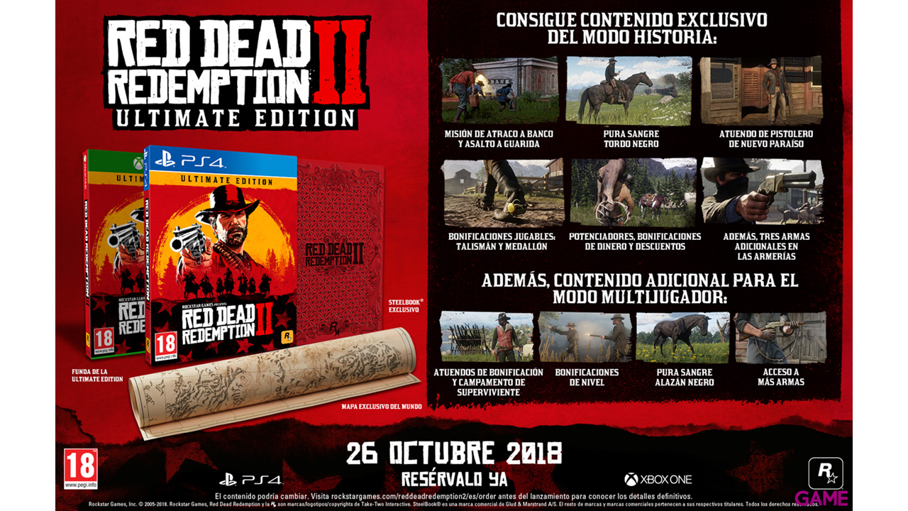 Red Dead Redemption II Edición Ultimate