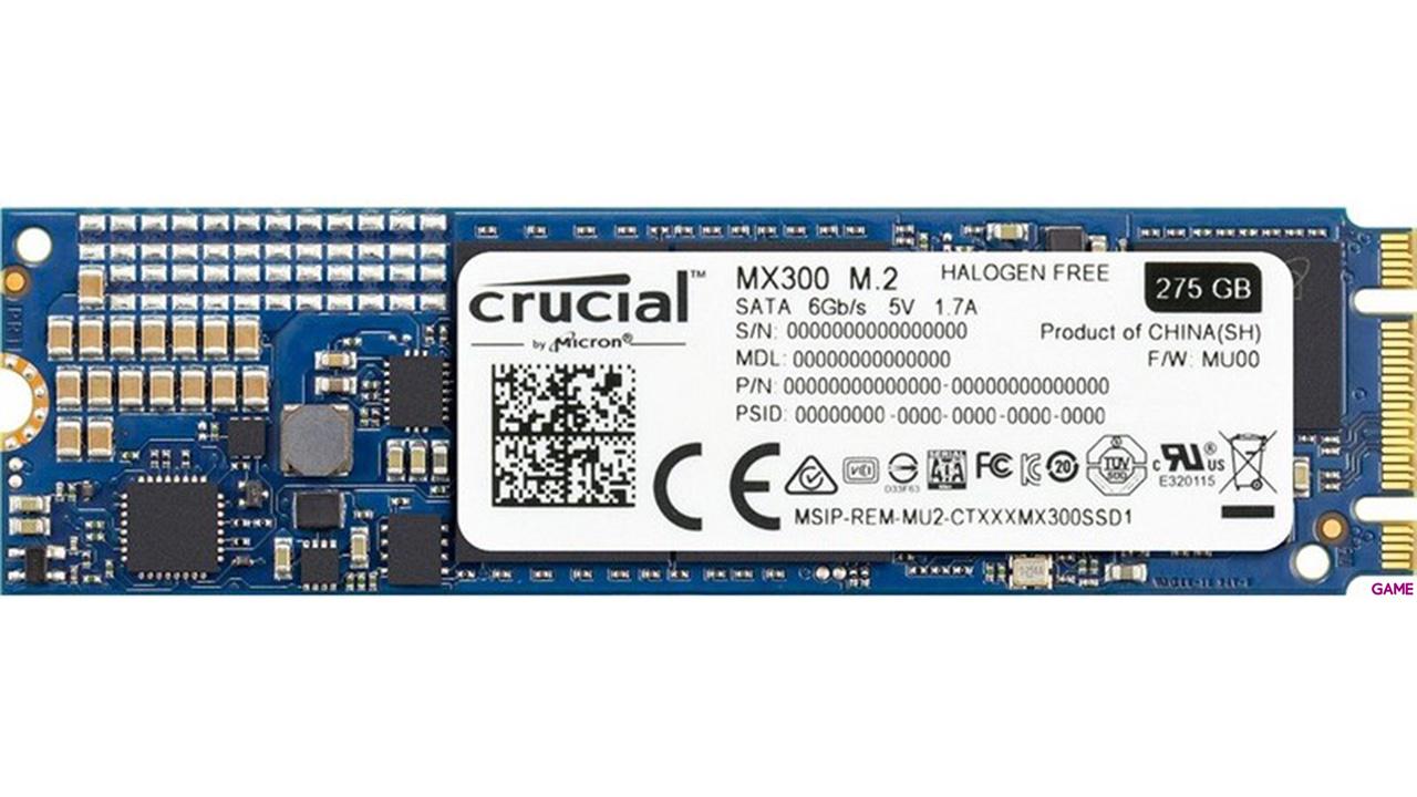 Crucial MX300 M.2 275GB