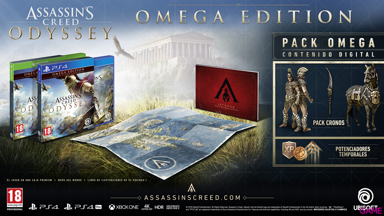 Assassin´s Creed Odyssey Omega Edition