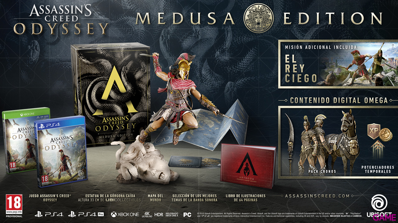 Assassin´s Creed Odyssey Medusa Edition