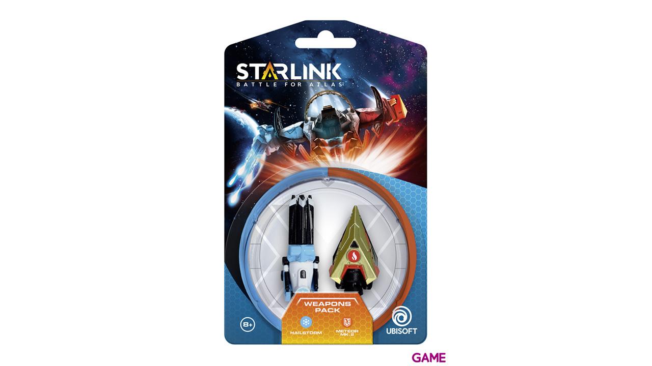 Starlink Pack Armas Hail Storm + Meteor