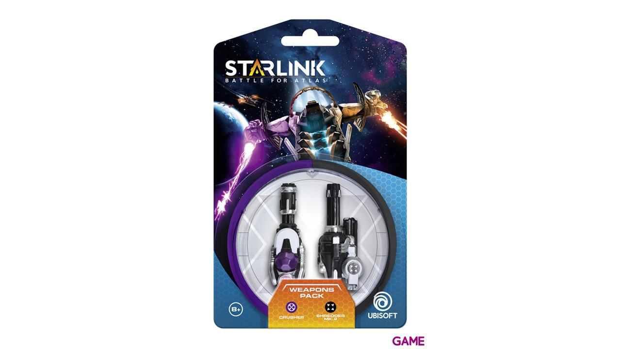 Starlink Pack Armas Crusher + Shredder