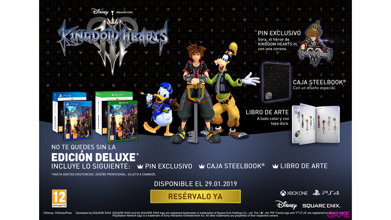 Kingdom Hearts III Deluxe Edition