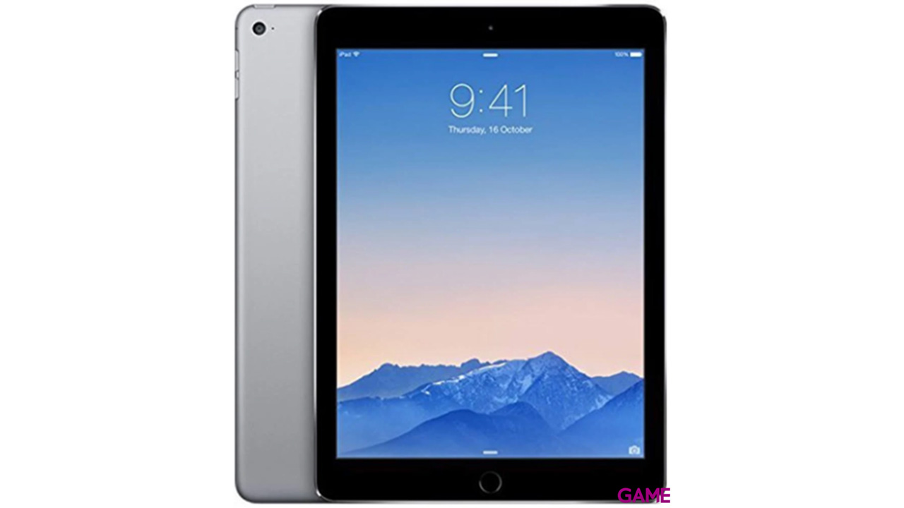 iPad Air 2 Wifi 128Gb (Gris Espacial)