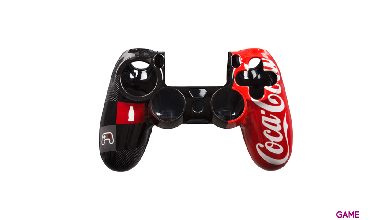 Carcasa para mando PS4 Coca-Cola
