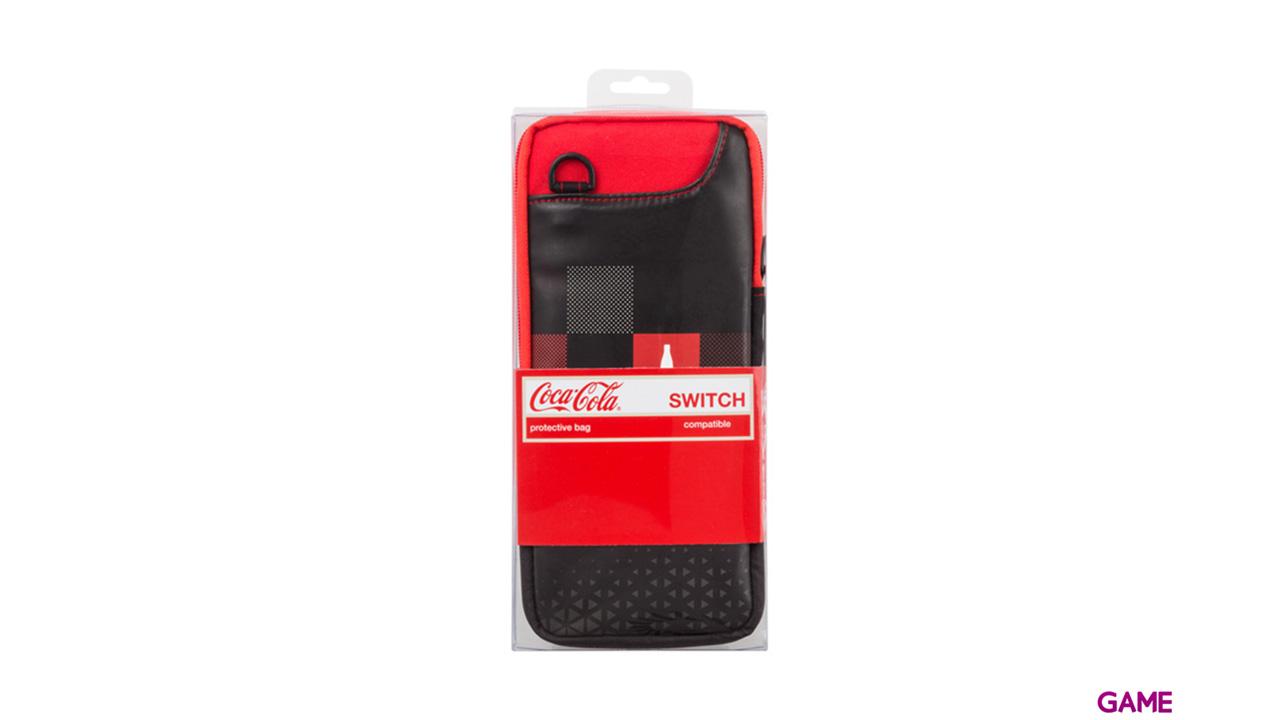 Bolsa de Transporte para Nintendo Switch  Coca-Cola