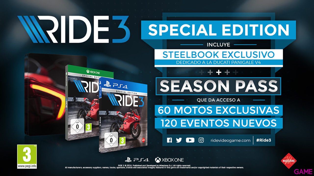 ride 3 special edition xbox one. Black Bedroom Furniture Sets. Home Design Ideas