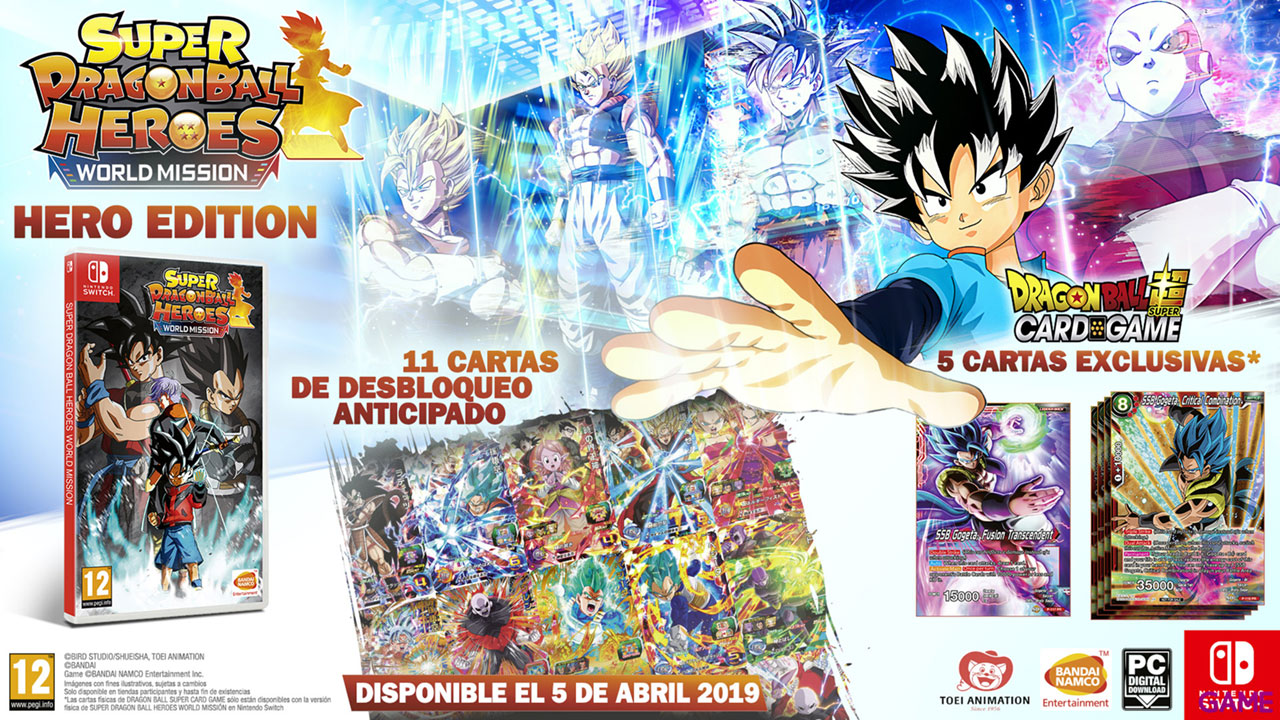 Super Dragon Ball Heroes World Mission Hero Edition