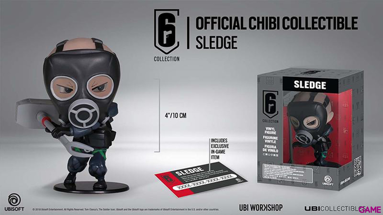 Figura Six Collection Sledge Chibi Series 2