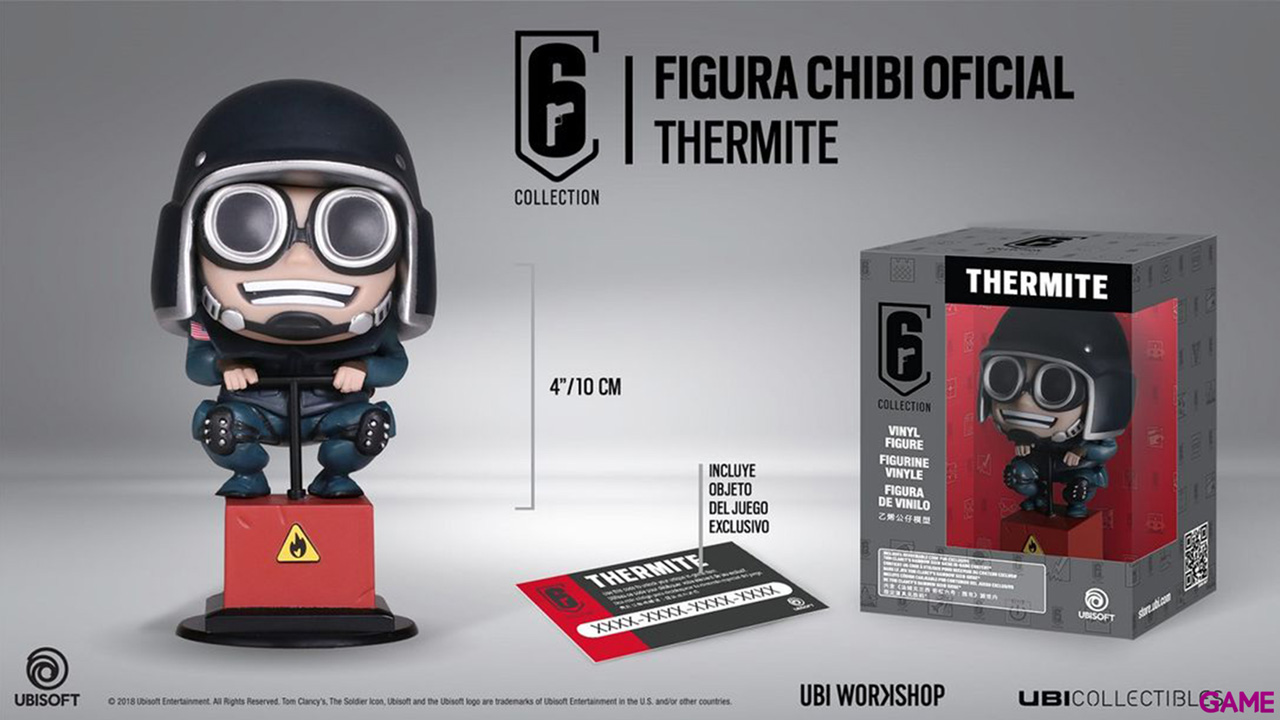 Figura Six Collection Thermite  Merchandising: GAME es